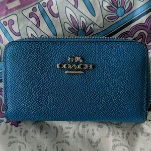 Coach 2 Zip Wallet